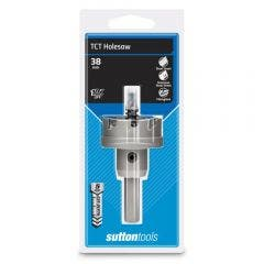 SUTTON 38 x 5mm TCT Holesaw for Metal