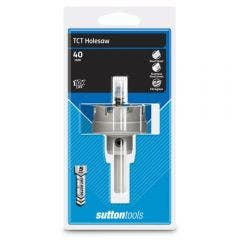 SUTTON 40 x 5mm TCT Holesaw for Metal