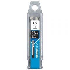 SUTTON 1/2inch 2-Flute HSS-Cobalt Slot Drill