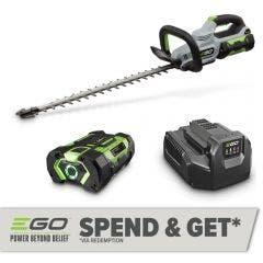 EGO POWER+ 56V Brushless 1 x 2.5Ah 610mm Hedge Trimmer Kit HT2411E