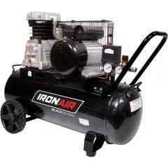 IRONAIR 50L 2.5HP 2 Coupler Belt Air Compressor TB1350DET