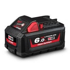MILWAUKEE 18V 6.0Ah Battery Red Lithium-Ion High Output M18HB6
