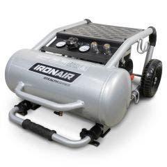 IRONAIR 2.0HP 20L 150L/min Super Quiet Oilfree Trolley Air Compressor TTD1120OF