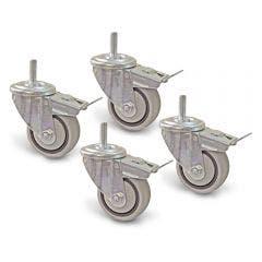KREG 3inch Dual-Locking Casters KR-PRS3090