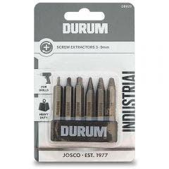 DURUM Screw Extractor Set - 6 Piece