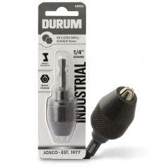 DURUM 6mm 1/4-Hex Quick-Change Keyless Chuck