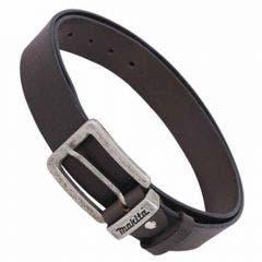 MAKITA Leather Belt in Brown Medium P72229
