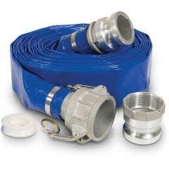 SABER 20m x 50mm Water Pump Discharge Hose SABDIS5020