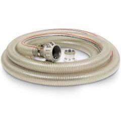 SABER 7m x 50mm Water Pump Suction Hose SABSUC5007