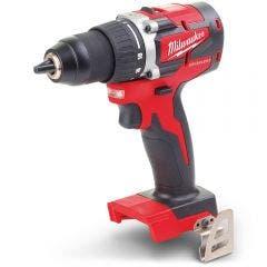MILWAUKEE 18V Brushless Drill/Driver 13mm Gen 3 Skin M18CBLDD-0