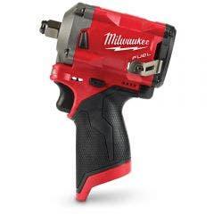"MILWAUKEE 12V FUEL™ 1/2"" Stubby Impact Wrench Skin M12FIWF12-0"
