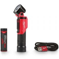 MILWAUKEE USB Rechargeable Pivoting Flashlight L4PWL201