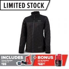 MILWAUKEE M12 AXIS™ Heated Jacket Black M12HJMBLACK9W-0