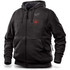 MILWAUKEE 12V Heated Jumper Hoodie Black Skin M12HHBLACK9-0