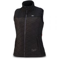 MILWAUKEE 12V AXIS Womens Heated Mid-Layer Vest Black Skin M12HVMBLACK9W-0