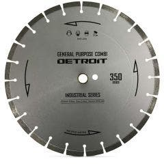 DETROIT 350mm Segmented Diamond Blade for General Purpose Cutting - INDUSTRIAL SERIES