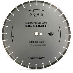 DETROIT 400mm Segmented Diamond Blade for General Purpose Cutting - INDUSTRIAL SERIES