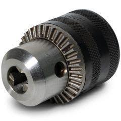 DETROIT 10mm Keyed Drill Chuck w.1/4-Hex Adaptor