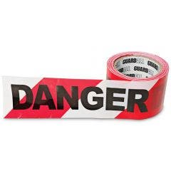 GUARDALL 100m x 75mm Danger Barrier Tape GASFT75D