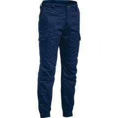 BISLEY Ripstop Stove Pipe Engineered Cargo Pant Navy  BPC647677REGNVY