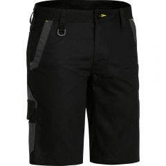 BISLEY Flex & Move Stretch Short Black BSHC113077REGBLK