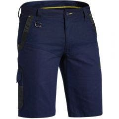 BISLEY Flex & Move Stretch Short Navy BSHC113077REGNVY