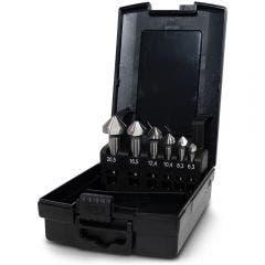 DETROIT 6.3-20.5mm HSS Countersink Set - 6 Piece