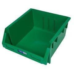 FISCHER 410 x 440 x 210mm STOR-PAK 240 Storage Bin Green 1H065G