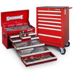 SIDCHROME 262 Piece MET/AF Tool Kit SCMT10159R