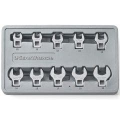 GEARWRENCH 3/8inch Drive Met Crowfoot Set 10pc in Tray 81909