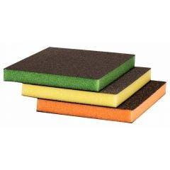 BOSCH Foam Hand Sanding Sponge Kit - S473 BEST for CONTOUR - 3 Piece