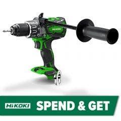 HiKOKI 36V Brushless 13mm Multi Volt Hammer Drill Skin DV36DA(H4Z)
