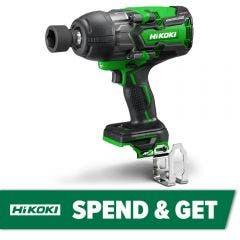 HiKOKI 36V Brushless 12.7mm Multi Volt Impact Wrench Skin WR36DB(H4Z)