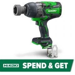 HiKOKI 36V Brushless 19mm Multi Volt Impact Wrench Skin WR36DA(H4Z)