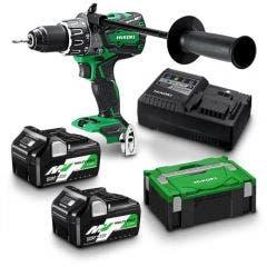 HiKOKI 36V 13mm 2 x 2.5Ah/5.0Ah Multi Volt Hammer Drill DV36DAHRZ DV36DA(HRZ)