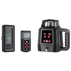 GENERAL Titanium Red Rotary Laser Level with Remote 88140