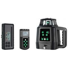 GENERAL Titanium Green Rotary Laser Level with Remote 88190
