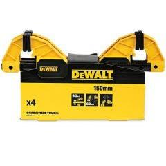 DEWALT 150mm Medium Clamp Bar 4pc Set DWHT829111