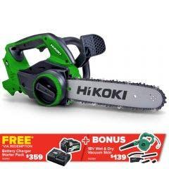 HiKOKI 36V Multi Volt Chainsaw Skin Only CS3630DA(H4Z)