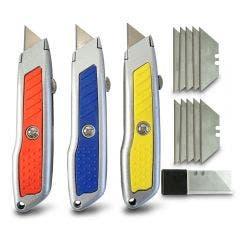 WORKFORCE 3 Pack Trimming Knife Set 08000