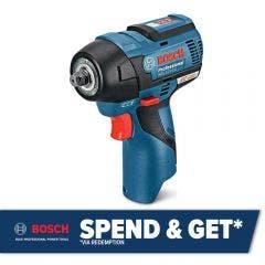 BOSCH 12V Brushless 3/8inch Impact Wrench Skin GDS 12V-115 06019E0101