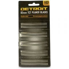 DETROIT 82mm TC Double-Sided Planer Blades - 10 Piece