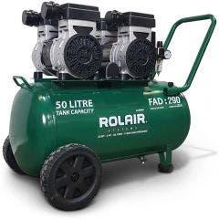 ROLAIR Ultra Quiet 3HP 50L Oil Free Air Compressor  JC50WH
