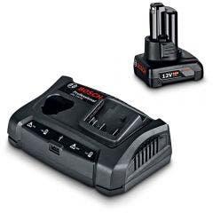 BOSCH 12V 4.0Ah Battery and Charger Starter Kit 0615990L1T