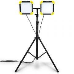 DETROIT 30W 2400LM LED Dual Worklight w. 3m Tripod Kit TTKIT707