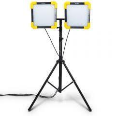 DETROIT 50W 5000LM LED Dual Worklight w. 1.8m Tripod Kit TTKIT710