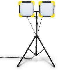 DETROIT 50W 4000LM LED Dual Worklight w. 3.0m Tripod Kit TTKIT711