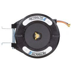 RETRACTA 1/4inch x 15m Gas Thread In & Out OX/LP Hose Reel OG215K04