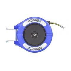 RETRACTA 1/2inch x 15m Oil Hose Reel - Blue OMP415B-01
