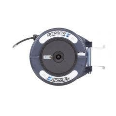 RETRACTA 1/4inch x 15m Grease Hose Reel - Grey GRC215D-01